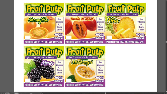 Fruit Pulp (pulpa De Frutas)