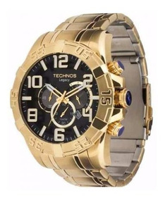 Relógio Dourado Technos Classic Legacy Os20im/4p Original