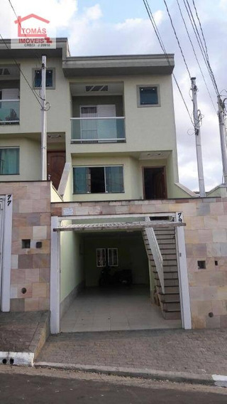 Sobrado Residencial À Venda, Jardim Maristela, São Paulo. - So1438