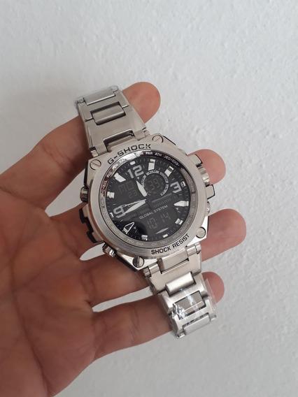 Relógio Casio G-shock Mtg-s1000 (todo Em Aço)