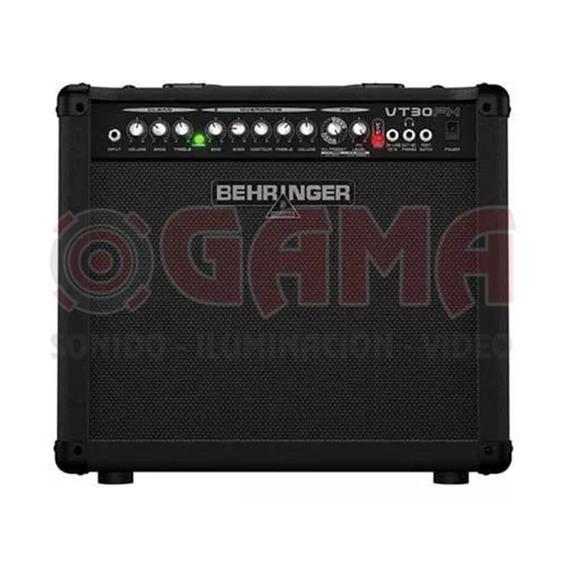 Combo Amplificador Guitarra 30w 10 Virtube Vt30fx Behringer