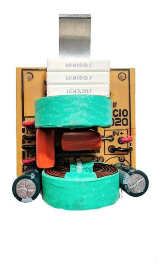 Kit 2 Divisor Frequencia Crossover 2 Via Mediograve,titanio