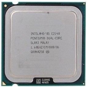 Intel Pentium Dual Cpu E2140 @1.60ghz