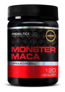 Monster Maca Peruana (120 Caps) - Probiotica