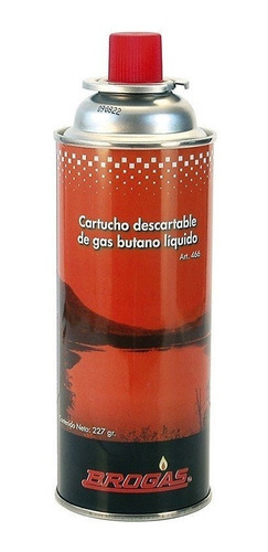 Cartucho De Gas Butano 227 Grs.