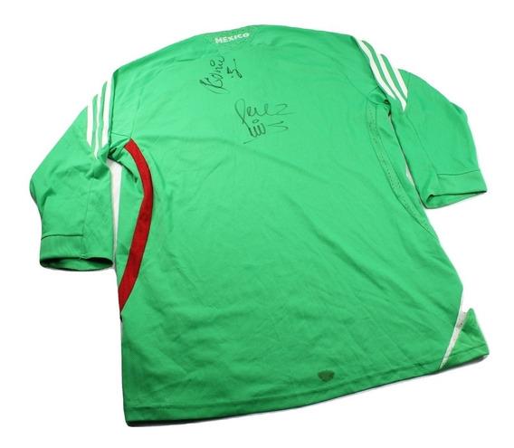 Playera Jersey adidas Original Nueva Talla M Autografiada