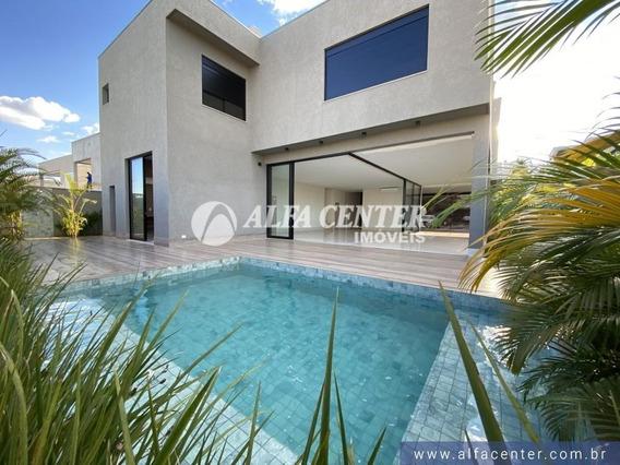 Sobrado Com 6 Dormitórios À Venda, 506 M² Por R$ 3.600.000 - Alphaville Flamboyant Residencial Araguaia - Goiânia/go - So0296