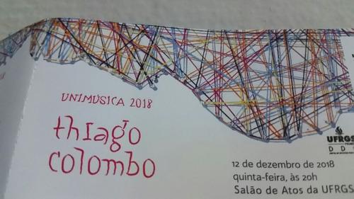 Thiago Colombo - Ingresso Antigo 12/12/2018 - Porto Alegre