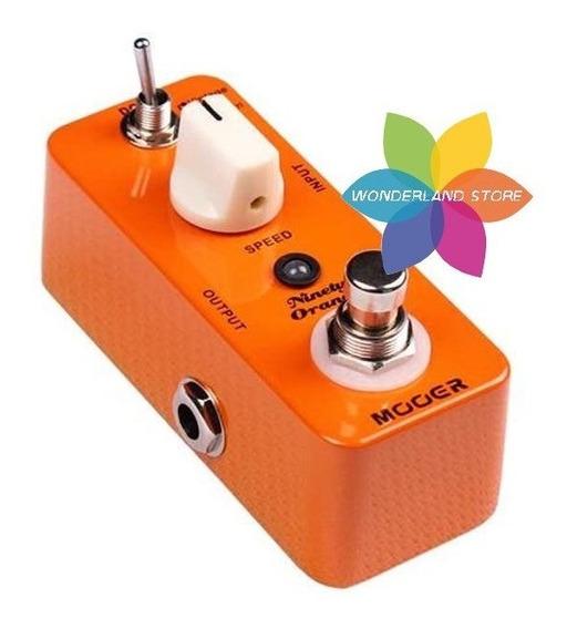 Pedal Mooer Ninety Orange Phaser Analogico True By Pass