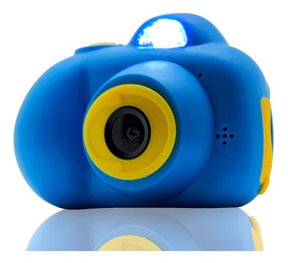 Câmera Filmadora Digital Mini Infantil Lcd Fotografa E Filma