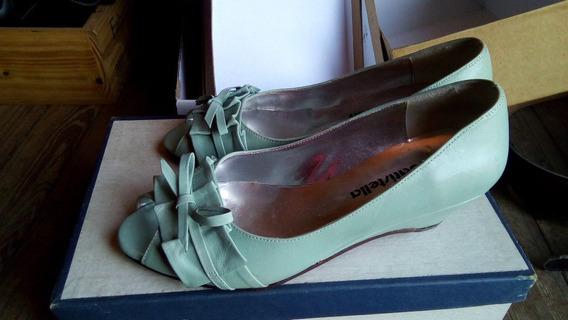 Zapato Abierto - Taco Chino - Talle 35