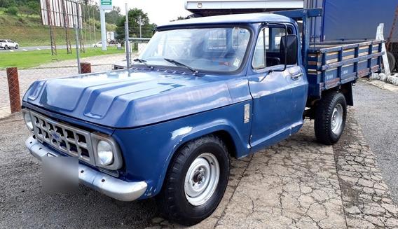 Chevrolet D-10 Carroceria Madeira