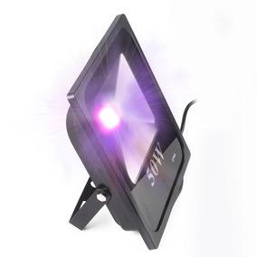 Refletor 50w Uv Ultra Violeta Dj Luz Negra Serigrafia