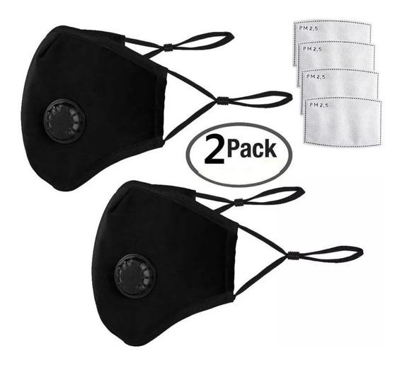 Kit De 2 Máscaras Antipolvo Y Antihumo N95 & N99Pm2. 5