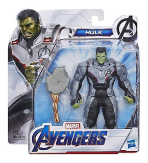 Muñeco Thanos Avengers Endgame Marvel Y Hulk Hasbro 15cm