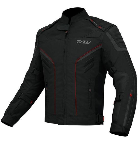 Jaqueta Motociclista X11 Iron 2 Impermeável Com Proteção