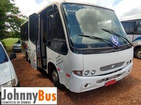 Micro Ônibus Rodoviário Comil Pia - Ano 2000 - Johnnybus