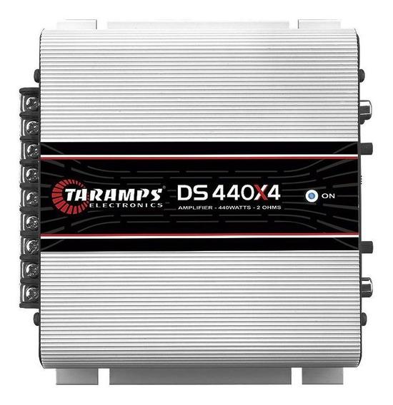 Módulo Carro 440w Rms Taramps Ds440 4 Canais 2 Ohms Digital