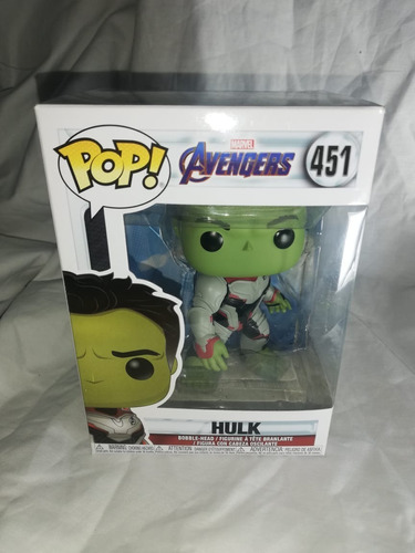 Figura Funko Pop Hulk End Game 451 En Stock Original