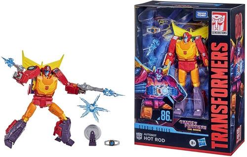 Boneco Transformers Hot Rod Robô Carro 86 Hasbro F0712