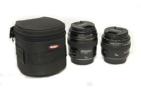 Case Lente Objetiva Nikon Canon Sigma Sony 50-85mm Similar