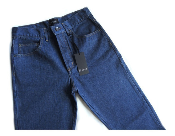 Calça Jeans Masculina Pierre Cardin Original Tradicional 100