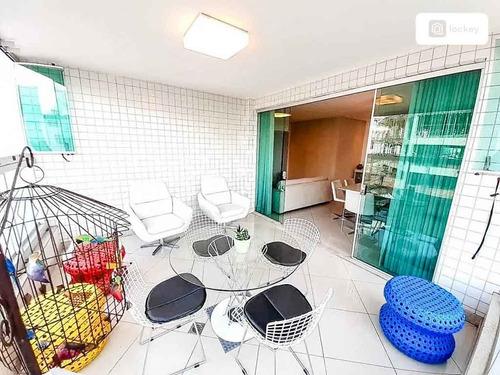 Venda De Apartamento Com 130m² E 4 Quartos  - 28327