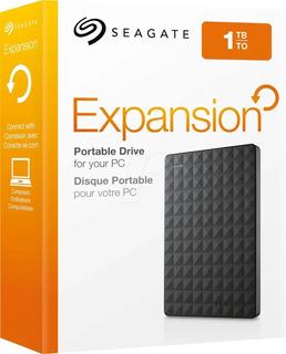 Disco Duro Externo Portátil Seagate Expansion 1tb Usb 3.0