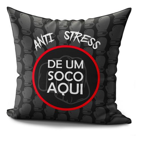 Imagem 1 de 2 de Almofada Completa 40x40cm Anti Stress Dê Um Soco 3