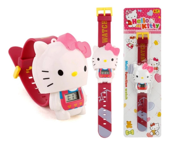 Reloj Para Niña Hello Kitty