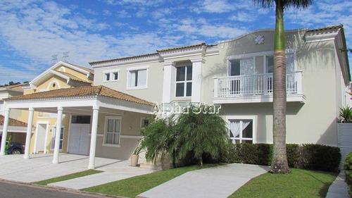 Casa Com 4 Dormitórios À Venda, 470 M² Por R$ 2.900.000 - Exclusive House - Santana De Parnaíba/sp - Ca3425