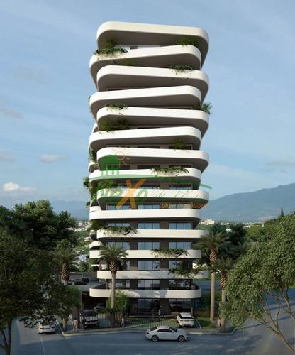 Imagen 1 de 14 de Elegante Torre De Apartamentos En Venta Santiago (eaa-328 B6
