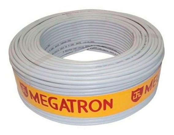 Cabo Megatron Coaxial Flexível Rf4mm + Bipolar 2x26 Awg 100m