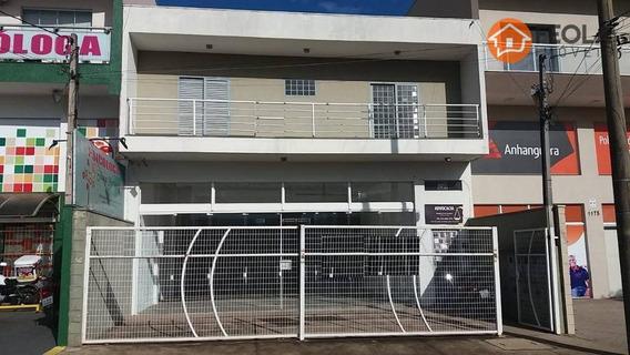 Casa Sobreloja Com 2 Dormitórios Para Alugar, 78 M² Por R$ 1.000/mês - Jardim Dona Regina - Santa Bárbara D