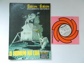 3568 Fatos E Fotos Documento Histórico Homem Na Lua 1969 C/d