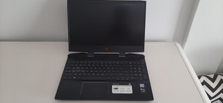 Notebook Hp Omen Dc0053la I7 8750h 16gb Ram 1050ti M.2 + Hdd