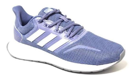 Tênis Running adidas Feminino Falcon Cl0320 Azul