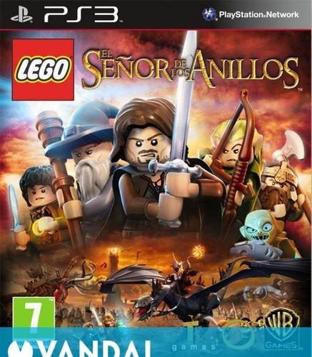Lego El Señor De Los Anillos Ps3 Digital
