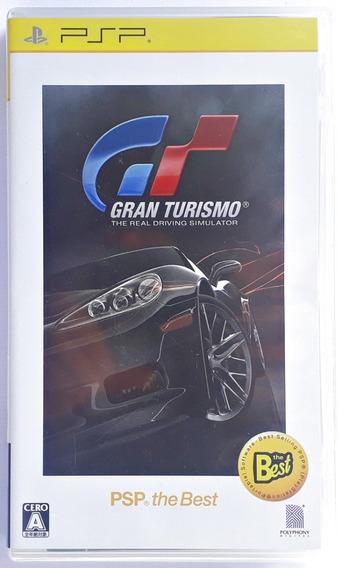 Jogo Gran Turismo Playstation Psp Japonês Original Mídia Fís
