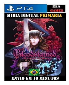 Bloodstained: Ritual Of The Night Ps4 Digital 1 Português