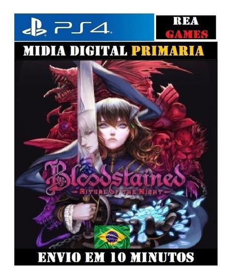 Bloodstained: Ritual Of The Night Ps4 Digital 1 Português