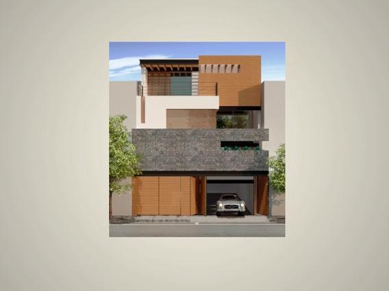 Residencia Única De Elegante Diseño, 4 Recámaras