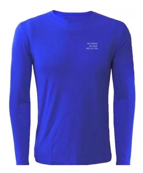 Kits 5 Camisas Proteção Solar Uv+50 Segunda Pele