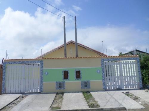 Casa Geminada No Jardim Sion, Itanhaém, Ref. C1158 L C