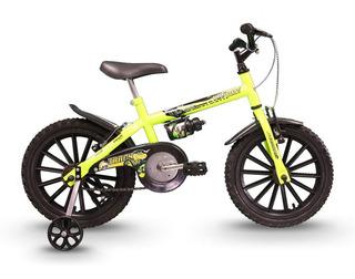 Bicicleta Track Dino Infantil Aro 16 Seminova