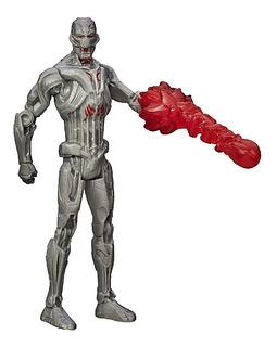 Muñeco Marvel Ultron Enemigo De Vengadores Articulado Hasbro