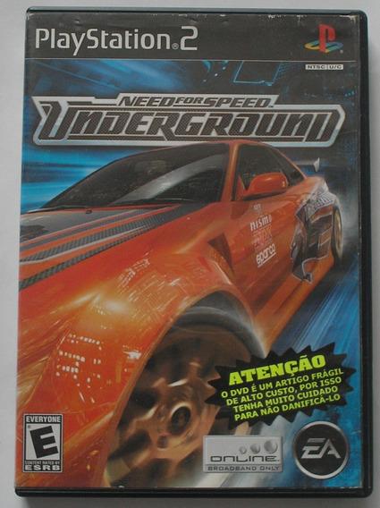 Need For Speed Underground Ps2 Original Usado
