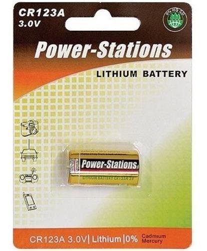 Bateria Lithium 3v Cr123a - Photo, Controle Remoto E Etc