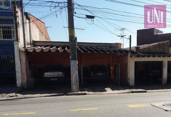 Terreno Residencial À Venda, Parque Oratório, Santo André. - Te0140