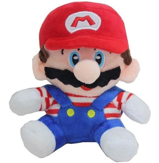 Pelucia Boneco Super Mario Bros Jogos Nintendo Promoção